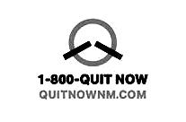 quit now new mexico logo