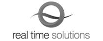 real time solutions website design logo