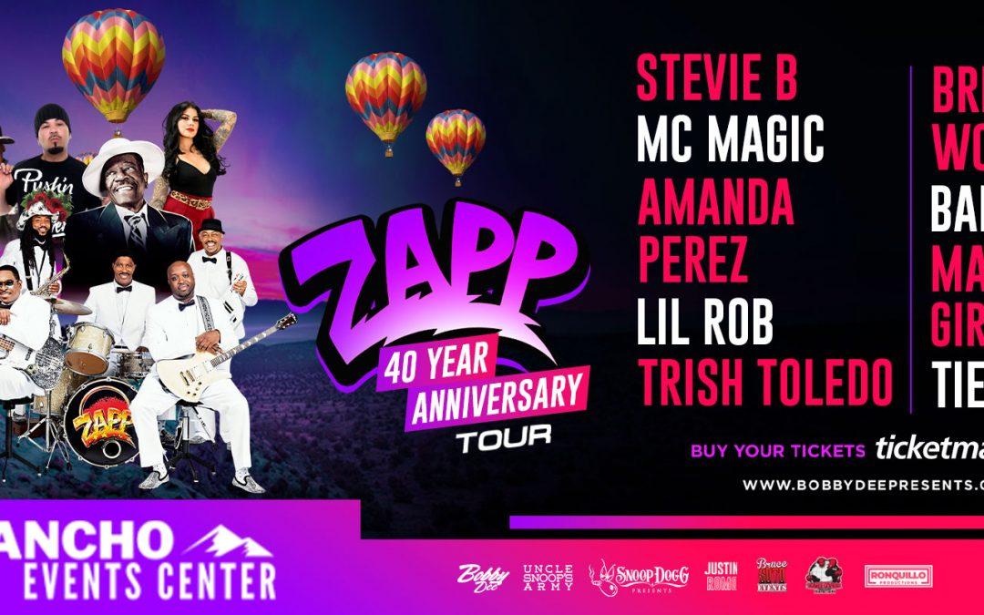 ZAPP, Brenton Wood, Stevie B, MC Magic, Baby Bash, Amanda Perez & More