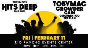 TobyMac Hits Deep Tour @ Rio Rancho Events Center